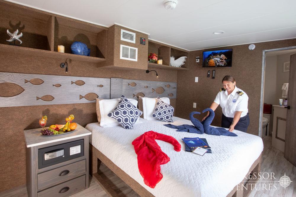 Cayman Aggressor Cabina Balcony Suite