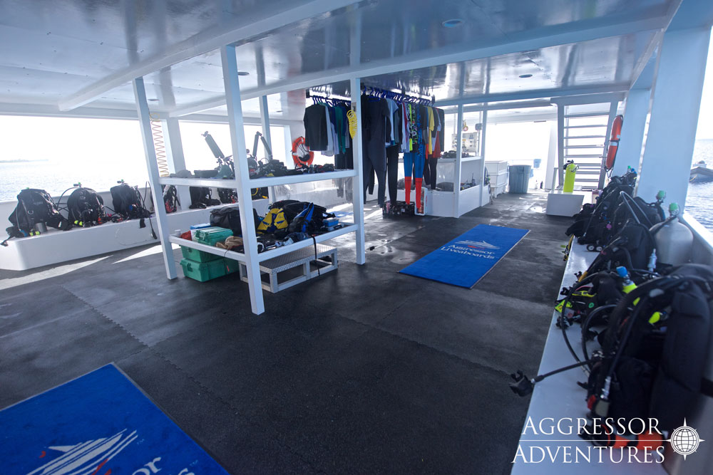 Cayman Aggressor Dive Deck