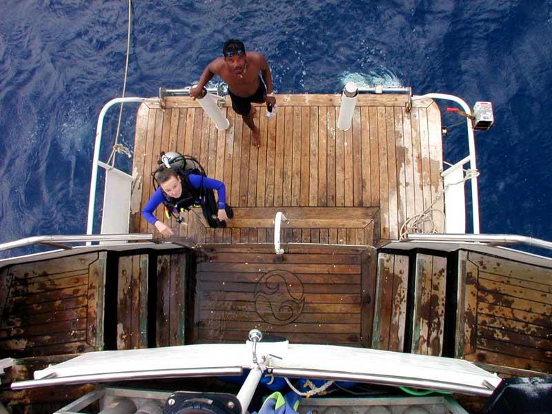 Piattaforma Diving