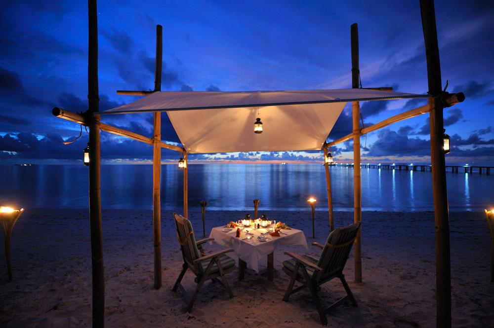 Fun-Island Cena al tramonto