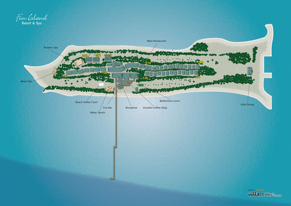 Fun Island Mappa Resort