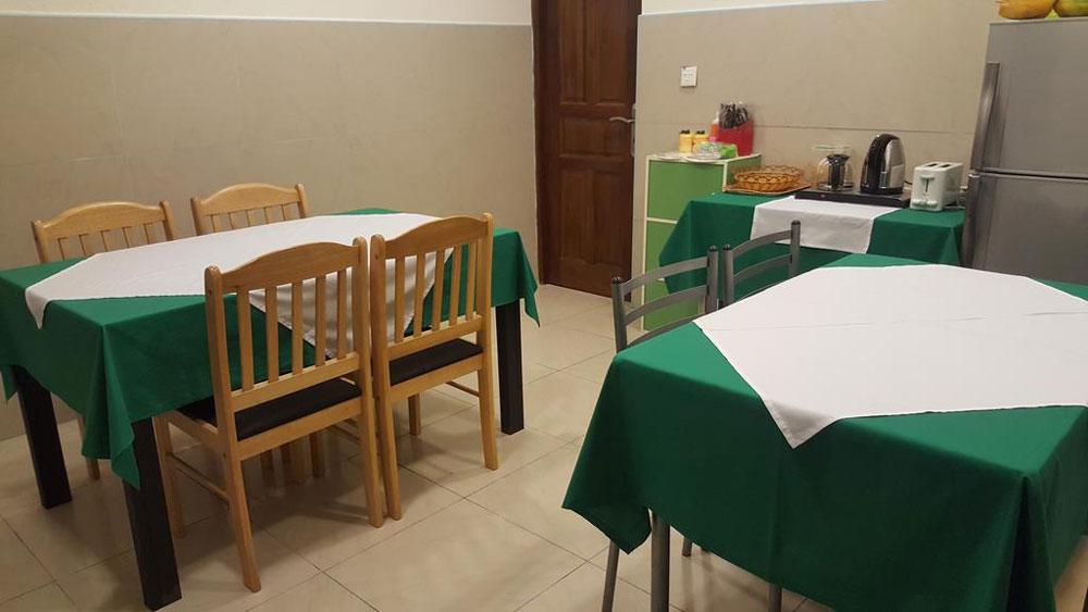 FUVAHMULAH INN - Sala Colazione