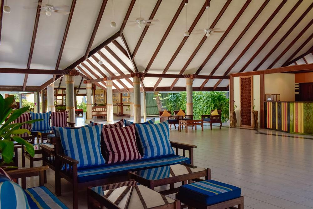 Holiday Island Lobby