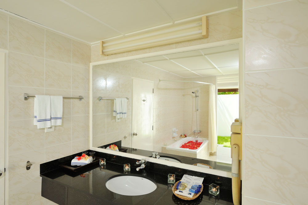Holiday Island Superior Beach Bungalow Bagno