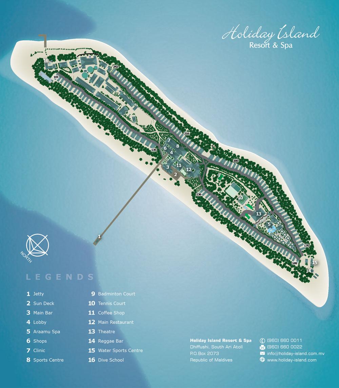 Holiday Island Mappa Resort