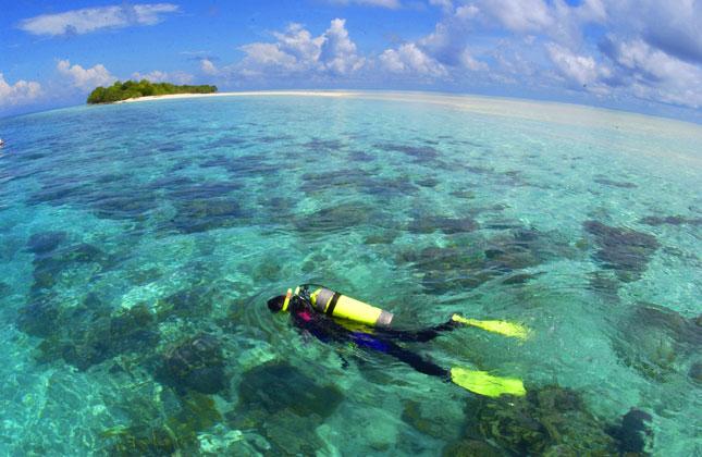 Mataking, Snorkeling