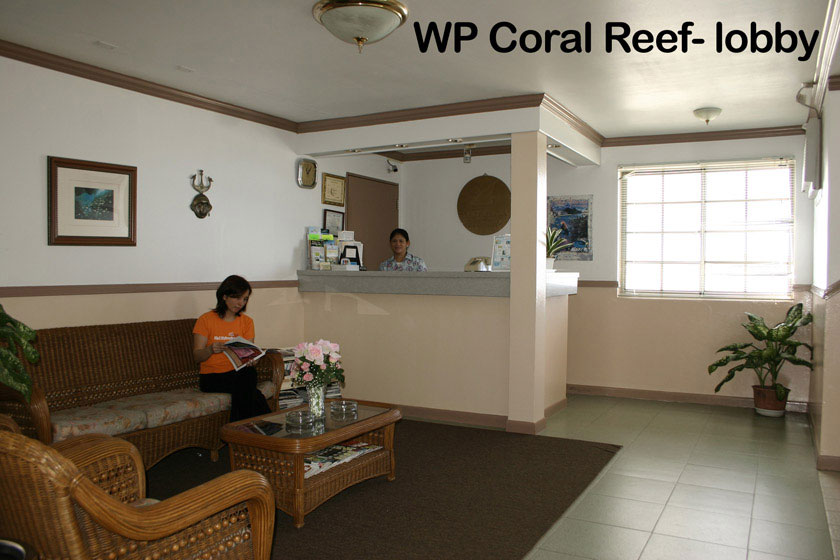 Reception Wp Coral Reef