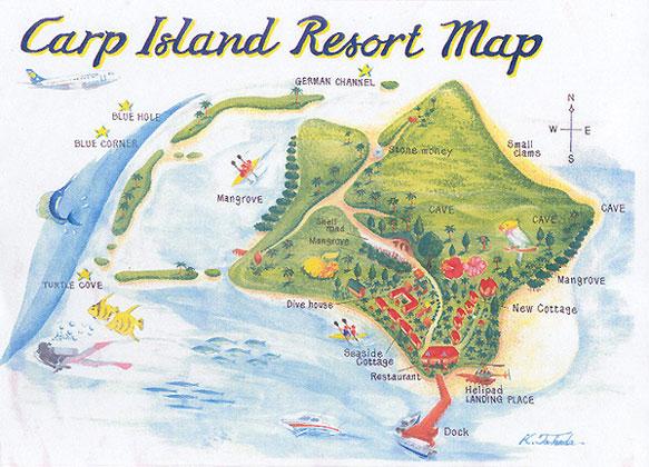 Mappa Dell'Isola