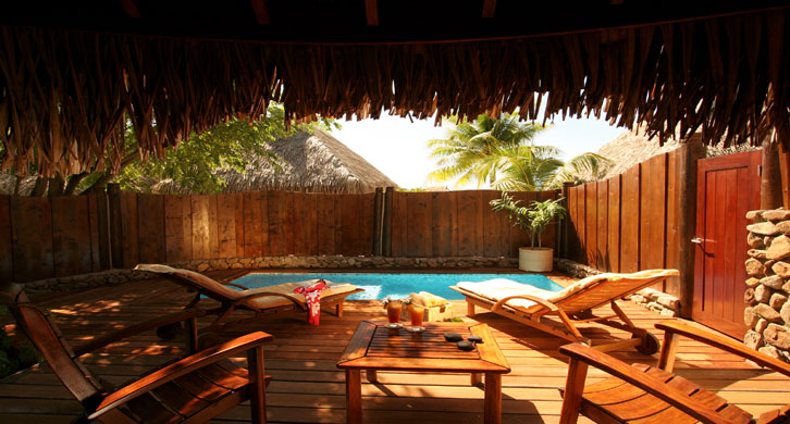 Manava beach resort spa viaggi e offerte sub moorea for Garden pool bungalow intercontinental moorea