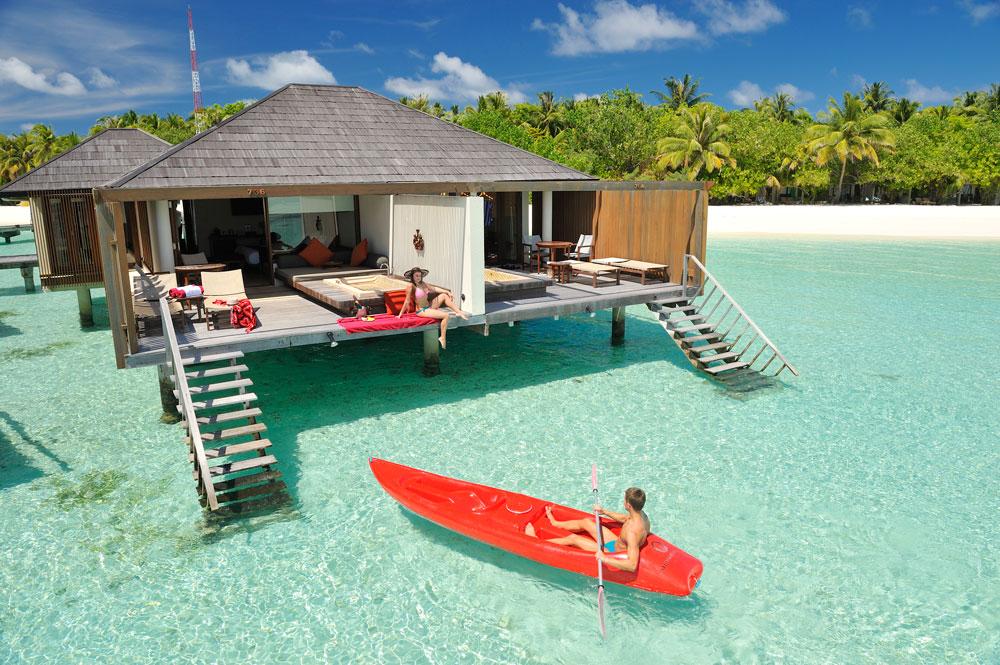 Paradise Island Water Villa Esterno