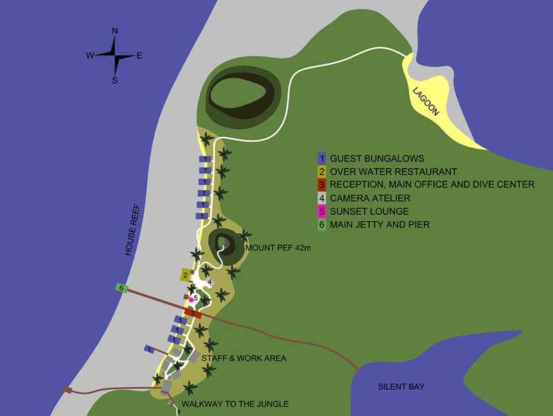 Mappa Resort