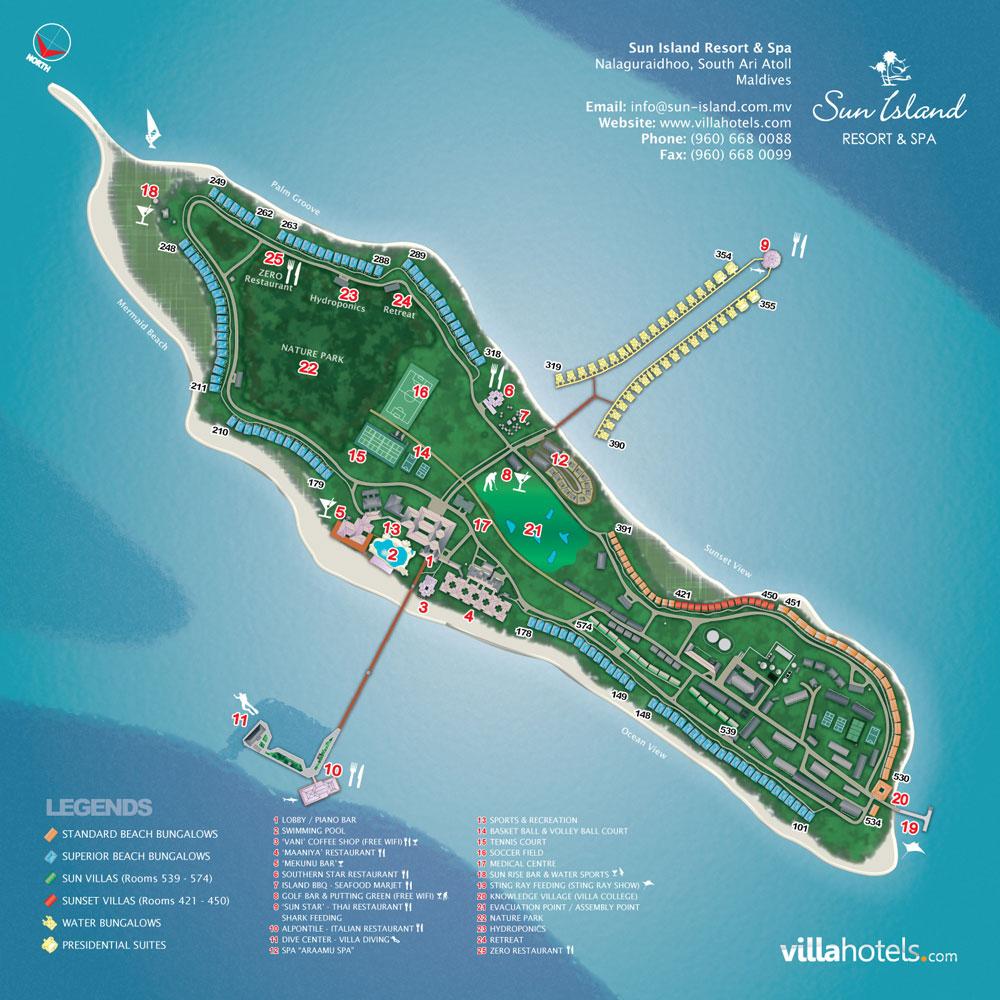 Sun-Island_Mappa-Resort